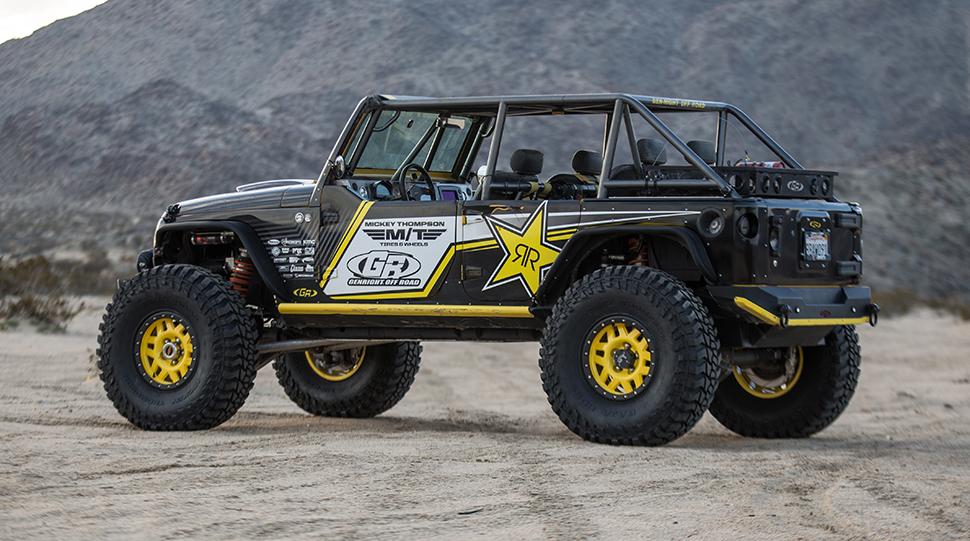 Terremoto Jeep Wrangler JK Builds by GenRight Custom Jeep Builders