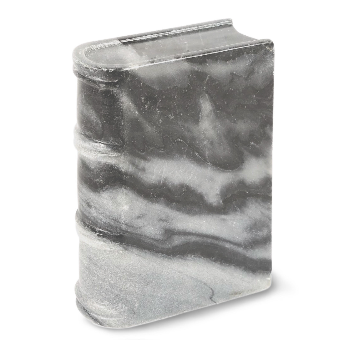 Heavy Weight Door Stop Small Gray Stone Book Weight