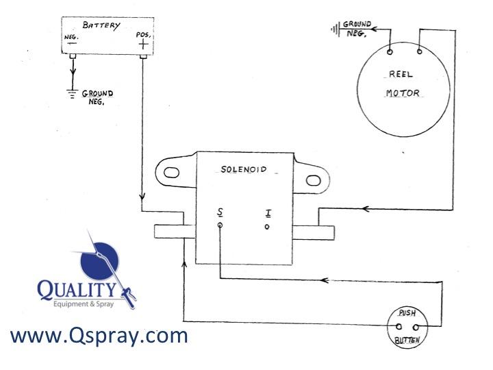 Pest Control Electric Hose Reel Wiring Diagram - QSpray
