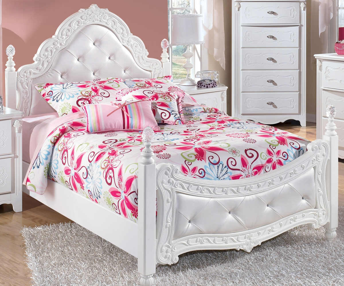 Kids Furniture Exquisite Full Size Poster Bed