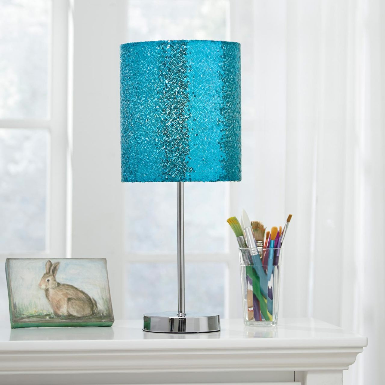 Table Lamps For Kids Maddy Metal Table Lamp Teal