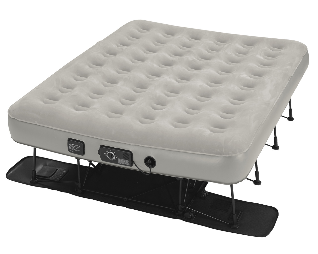 Air Mattress Frame Queen Ez Bed Queen W Neverflat Pump