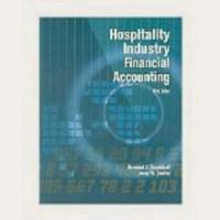Hospitality Industry Financial Accounting Raymond S ...