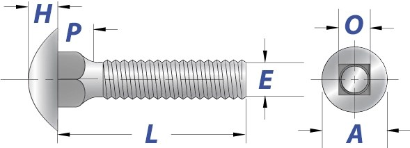 Carriage Bolts Dimensions  Mechanical Properties AFT Fasteners