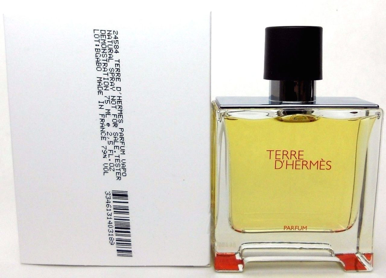Edp Tester Terre D Hermes By Hermes Parfum Spray 2 5 Oz 75 Ml For Men Tester