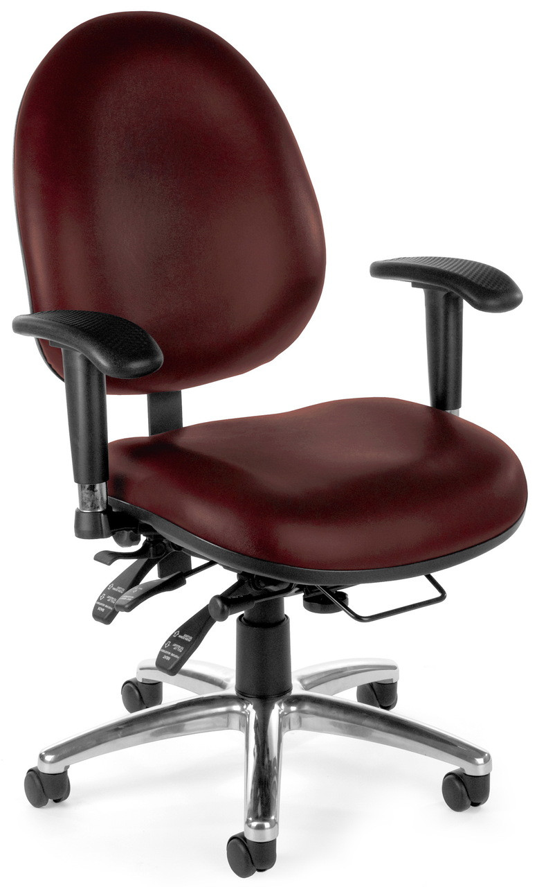 Most Ergonomic Office Chair Ofm 24 Hour Rated Big And Tall Office Chair 247