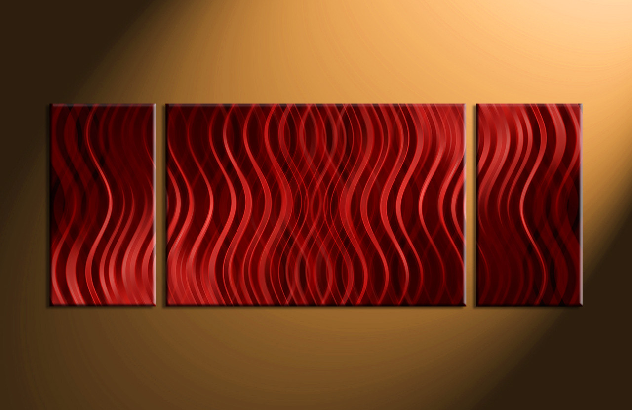 Abstract Art Prints On Canvas 3 Piece Red Abstract Canvas Prints Canvas Photography Wide Wall Art