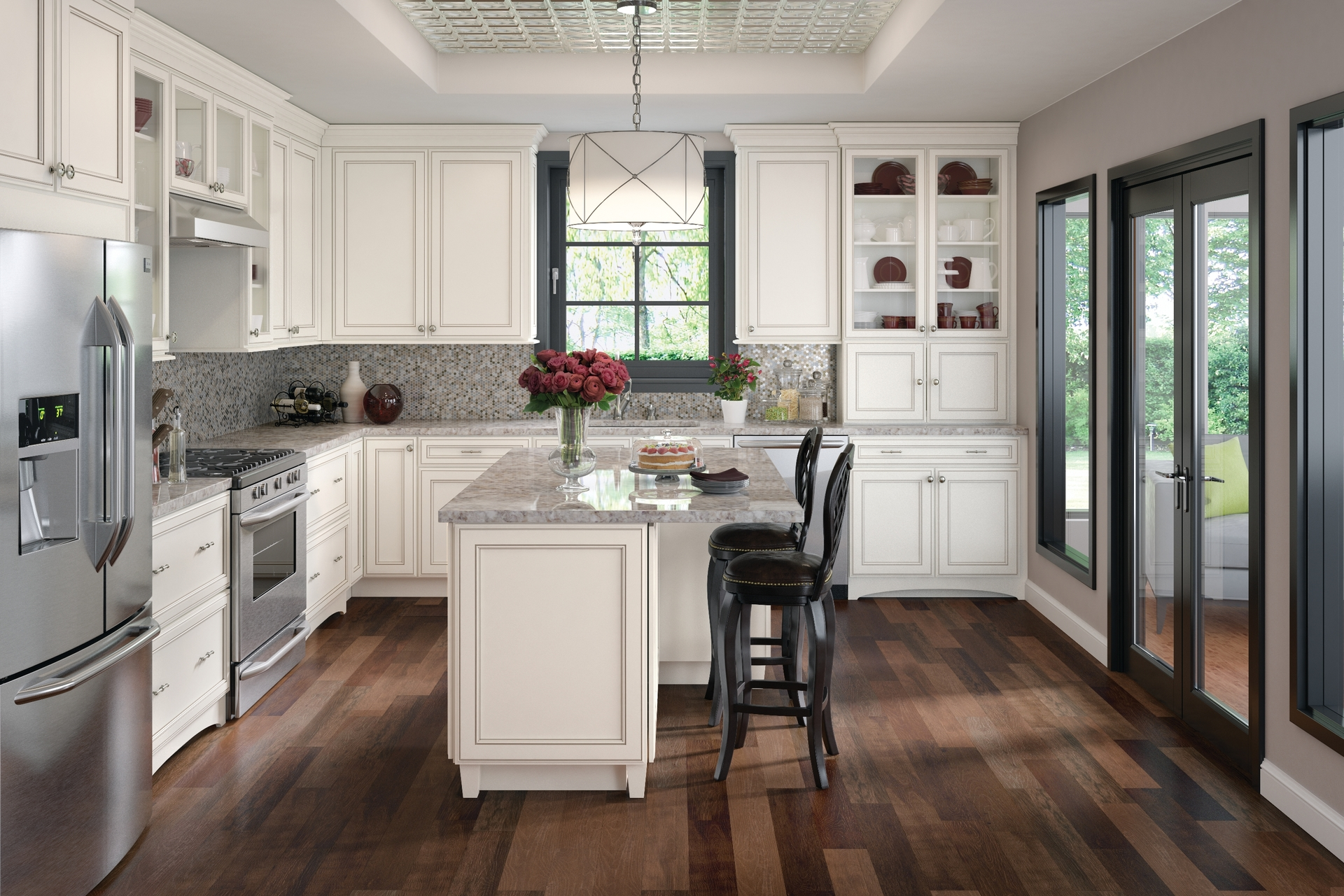 White Kitchen Cabinets Menards Cardell Kitchen Cabinets Hannaford Maple In Dove White