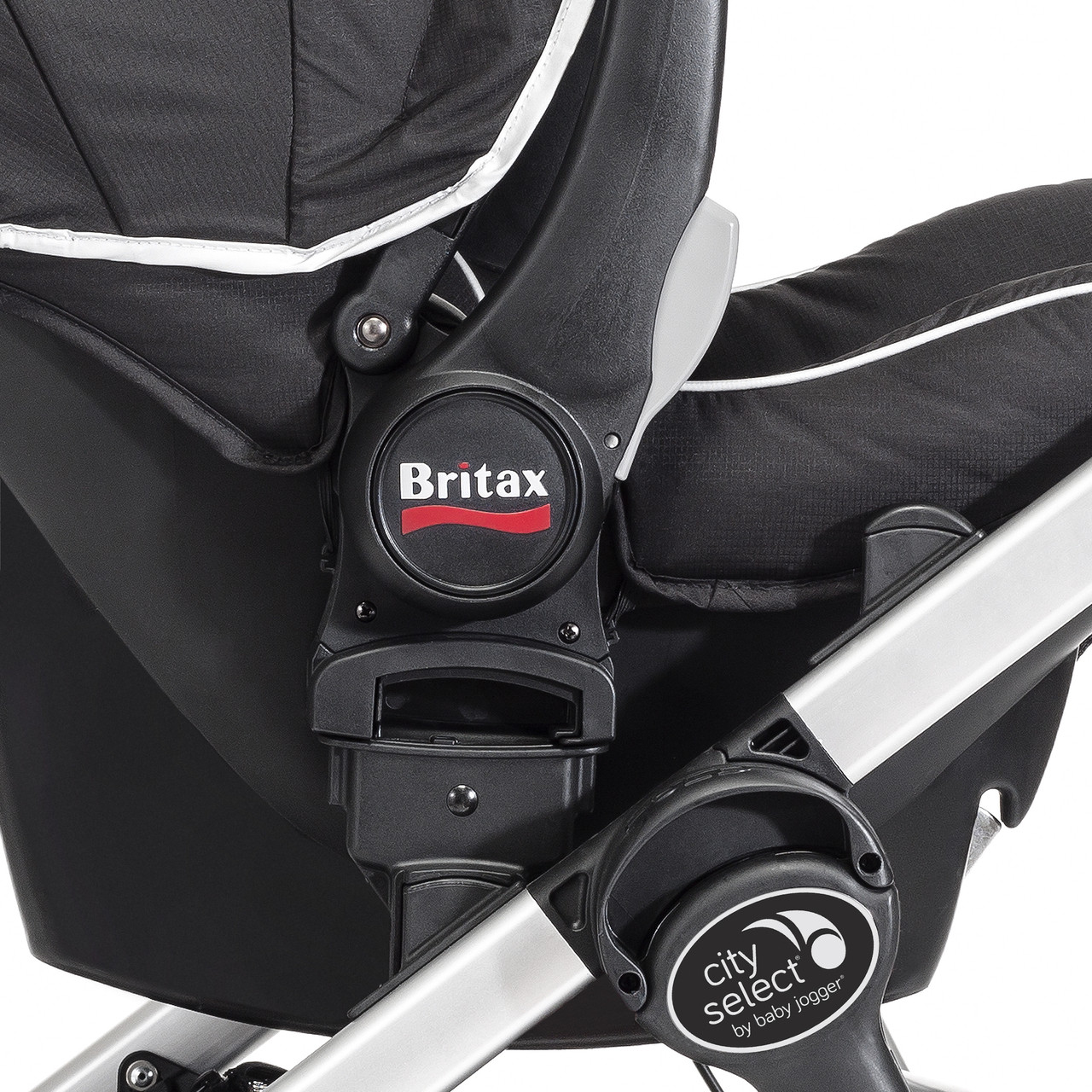 Britax Car Seat With Stroller City Select Stroller Britax B Safe Car Seat Adapter By Baby Jogger Ships Now