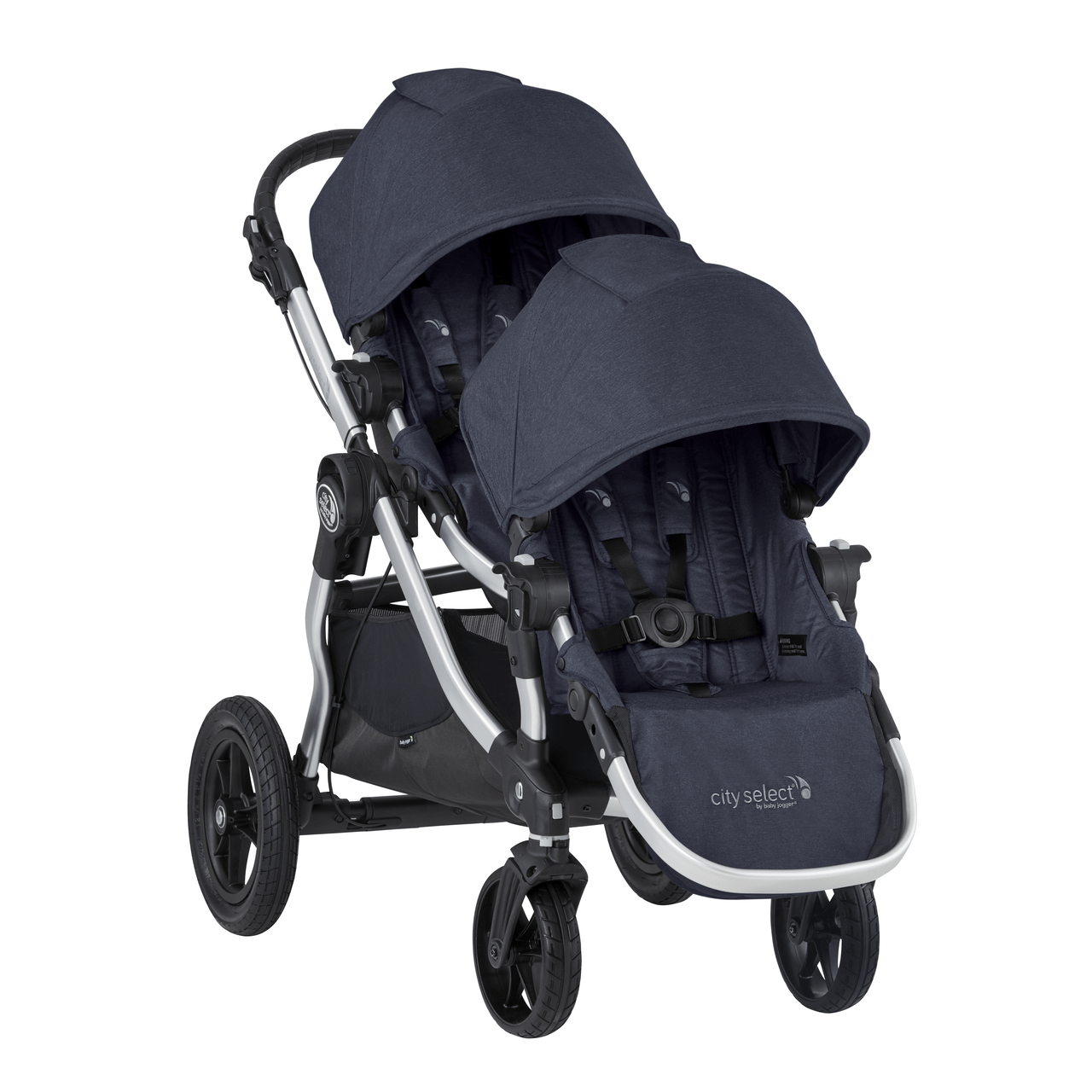 Baby Jogger City Select 2020 Baby Jogger City Select Double Stroller Carbon Ships Now