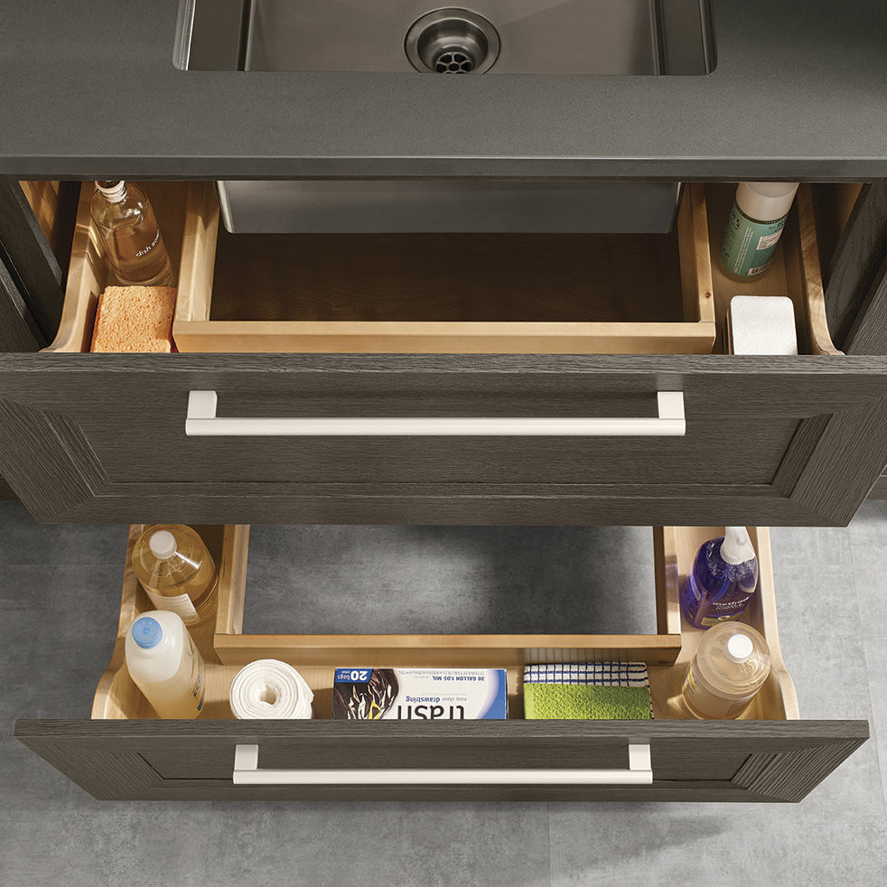 Cabinet Drawers Sink Base Drawers