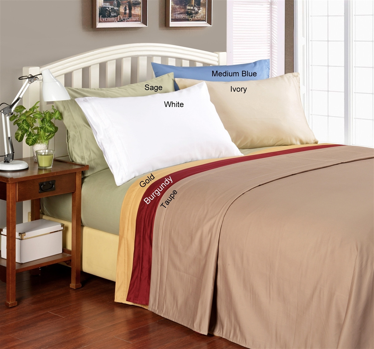 100 Egyptian Cotton Sheets Caribe Collection 1000 Thread Count Egyptian Cotton California King Sheets