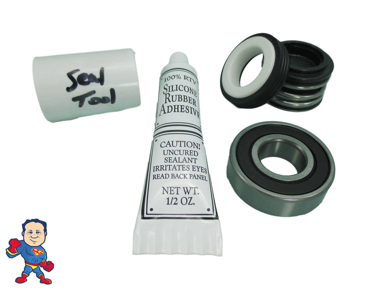 Jacuzzi Pool Pump Seal Kit 1 Front Bearing Seal Pump Parts Kit Fits Most Vico Sta Rite Spa Hot Tub Pumps