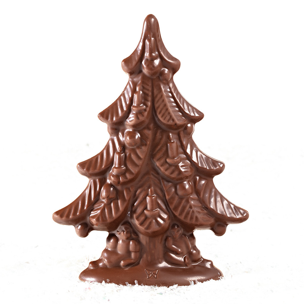 Mini Tannenbaum Mini Solid Chocolate Christmas Tree Pack Of 6