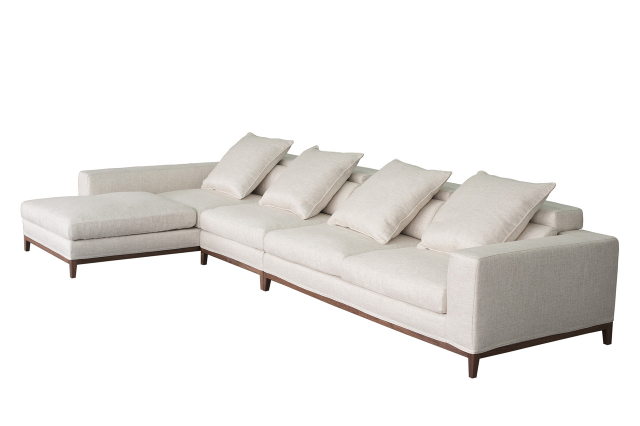 Oslo Ecksofa Oslo Sofa 4 Seater Long Chaise Left