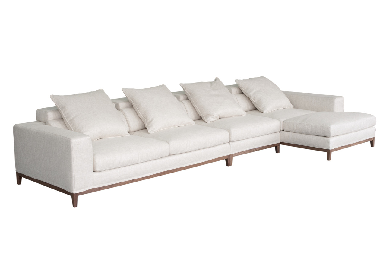 Oslo Ecksofa Oslo Sofa 4 Seater Compact Chaise Right