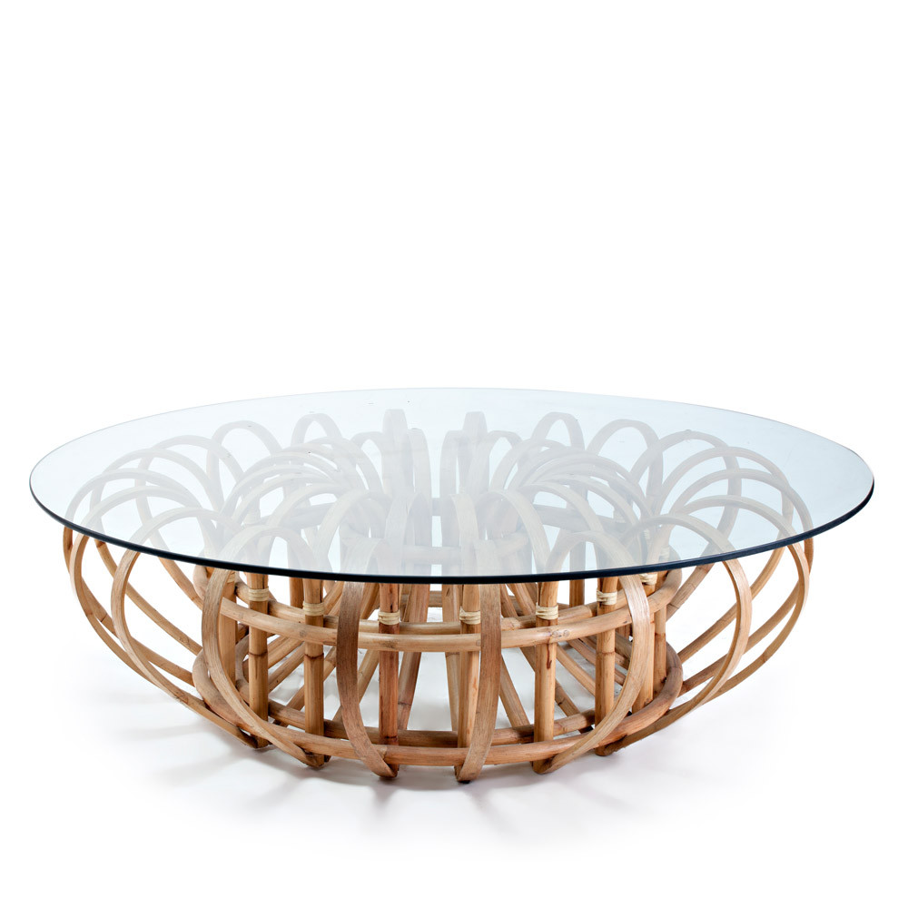 Rattan Table Galisteo Cocktail Table