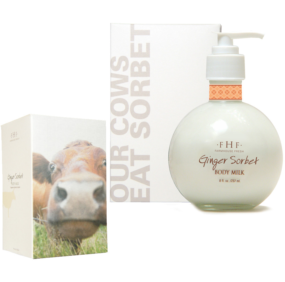 Farmhouse Fresh Body Products Ginger Sorbet Body Milk Lotion