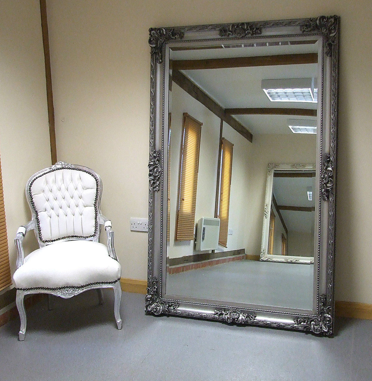 Large Wall Mirrors Paris Shabby Chic Extra Large Wall Leaner Full Length Mirror