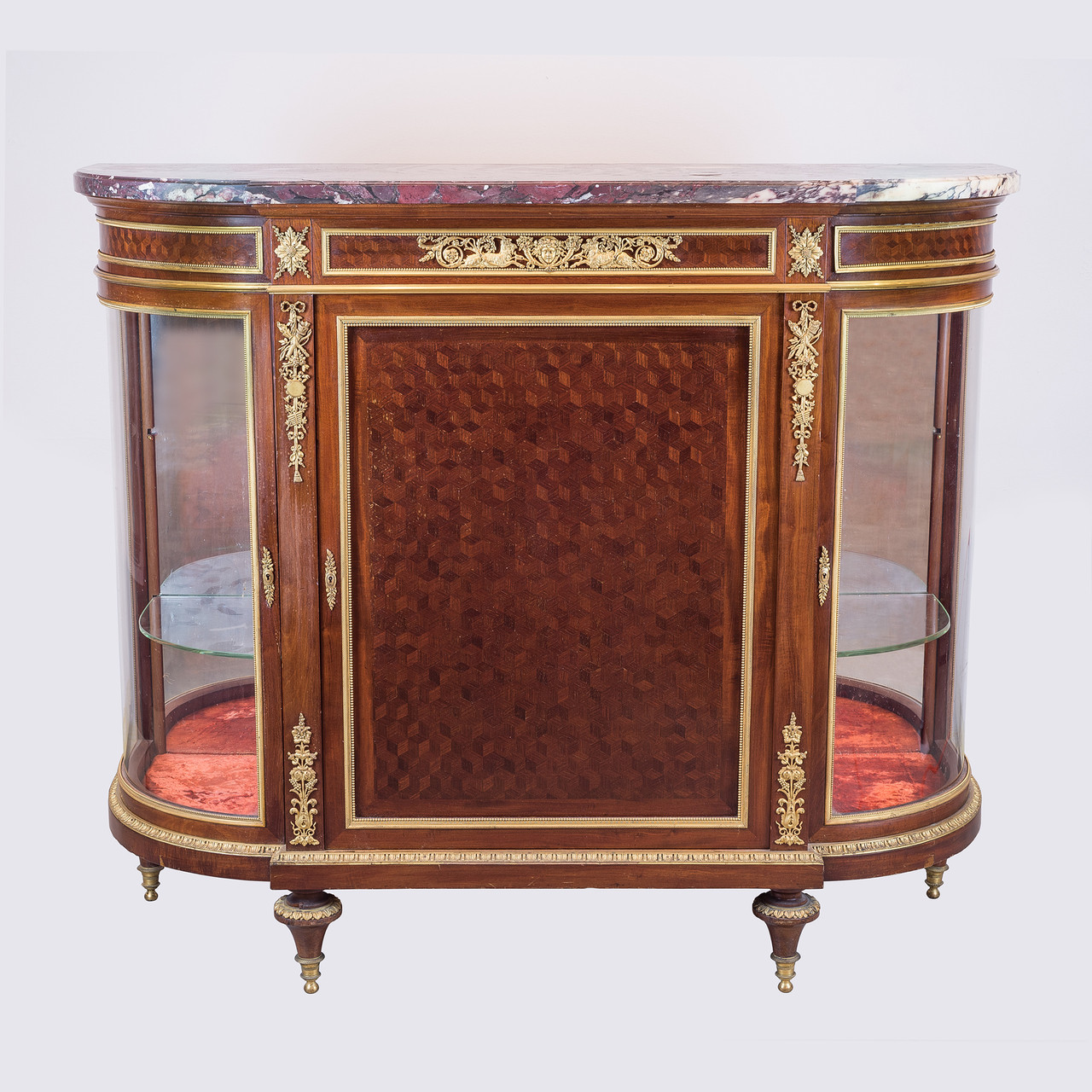 Meuble Louis 16 Exceptional Louis Xvi Style Gilt Bronze Mounted Parquetry Meuble D