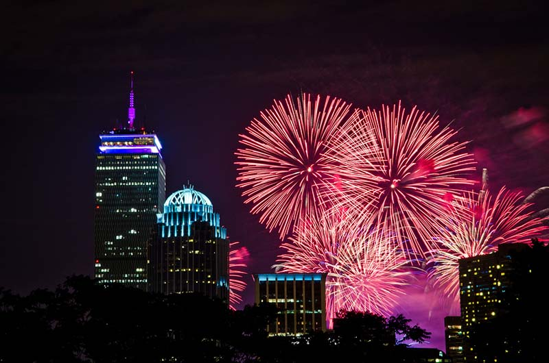 Niagara Falls Moving Wallpaper The Best Places To Watch Boston S Fourth Of July Fireworks