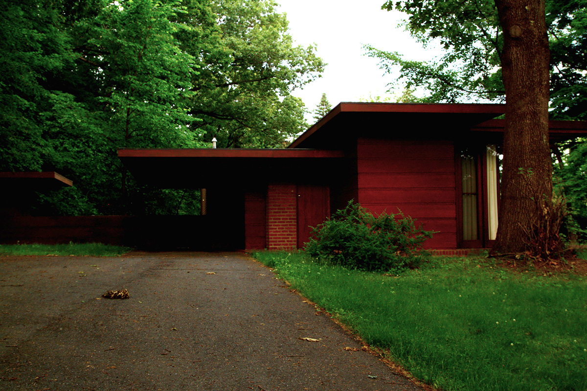 Frank Lloyd Wright There S One Frank Lloyd Wright House In Massachusetts