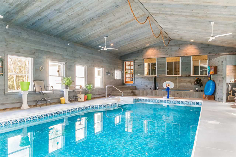 Five Homes for Sale with Indoor Pools