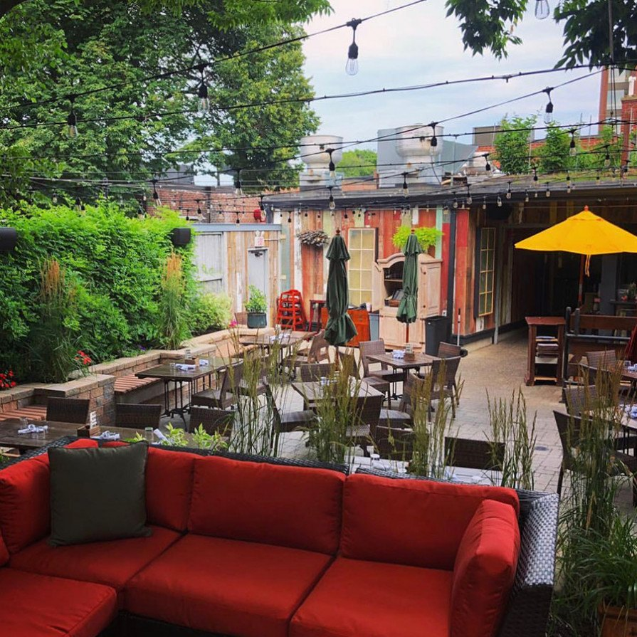Coffee Shop With Garden Near Me Boston S Best Outdoor Dining 52 Top Patios Decks More