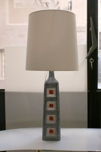 Spanish Ceramic Lamp, 1960s for sale at Pamono