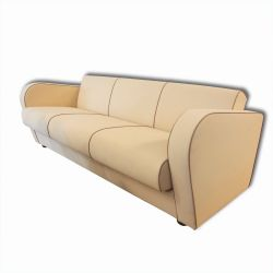 H 363 Functionalist Sofa by Jindrich Halabala for Up Zavody 1930s