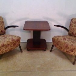 H 275 Living Room Set by Jindrich Halabala 1930s for Sale at Pamono