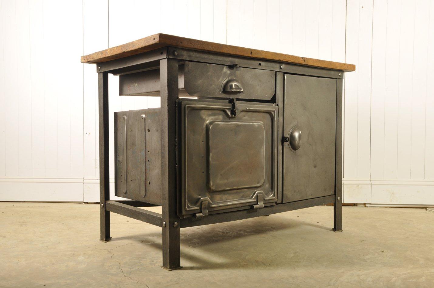 Credenza 2 Ante Ikea : Credenza industriale vintage in legno bianco