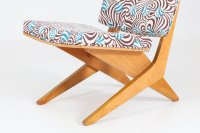 Dutch Mid-Century FB18 Scissor Chair by Jan van Grunsven ...
