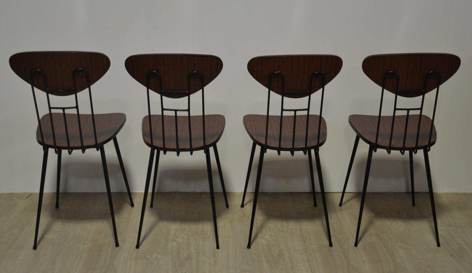 Sedie Vintage Colorate : Sedia vintage ferro battuto sedie legno colorate vintage amazing