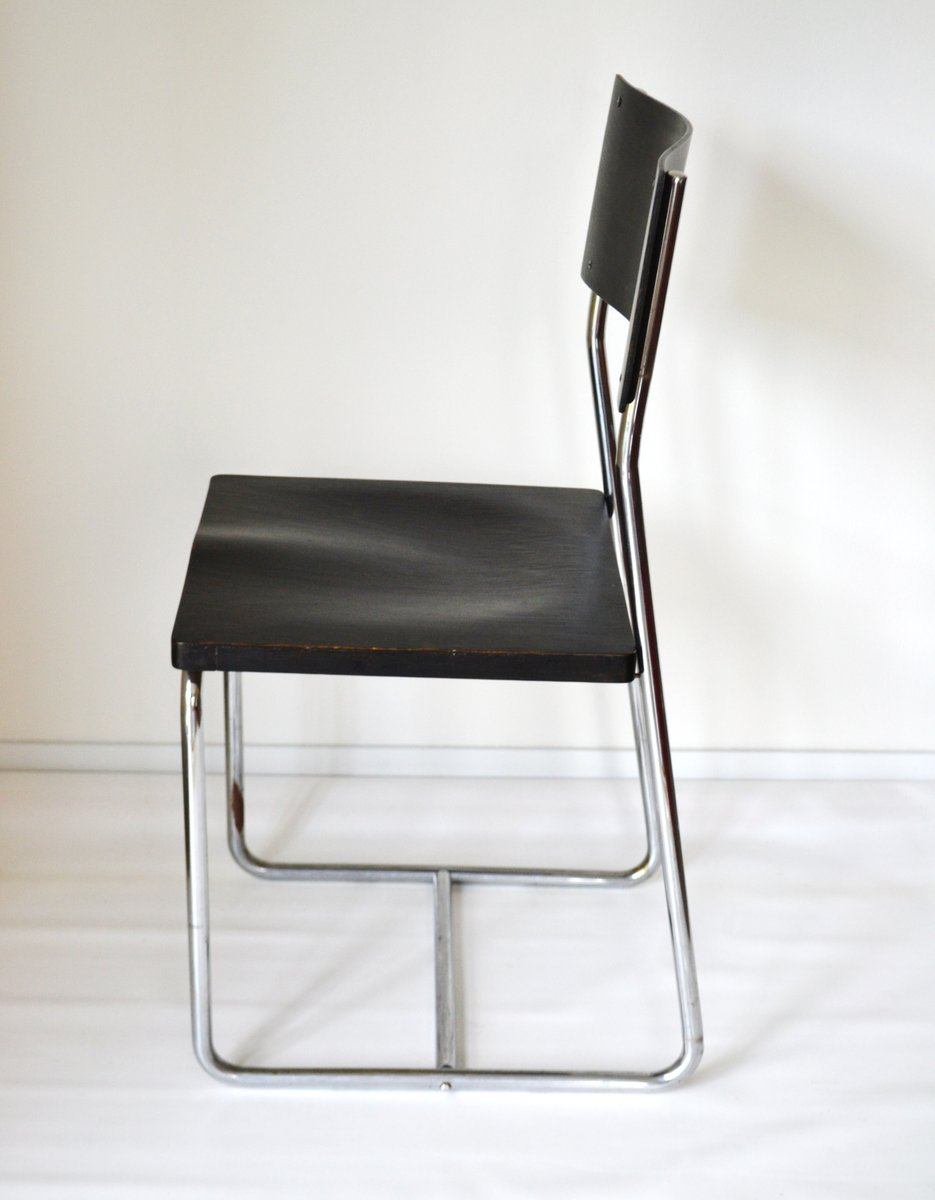 Glastisch Bauhaus Bauhaus B6 Chair By Marcel Breuer For Thonet 1930s