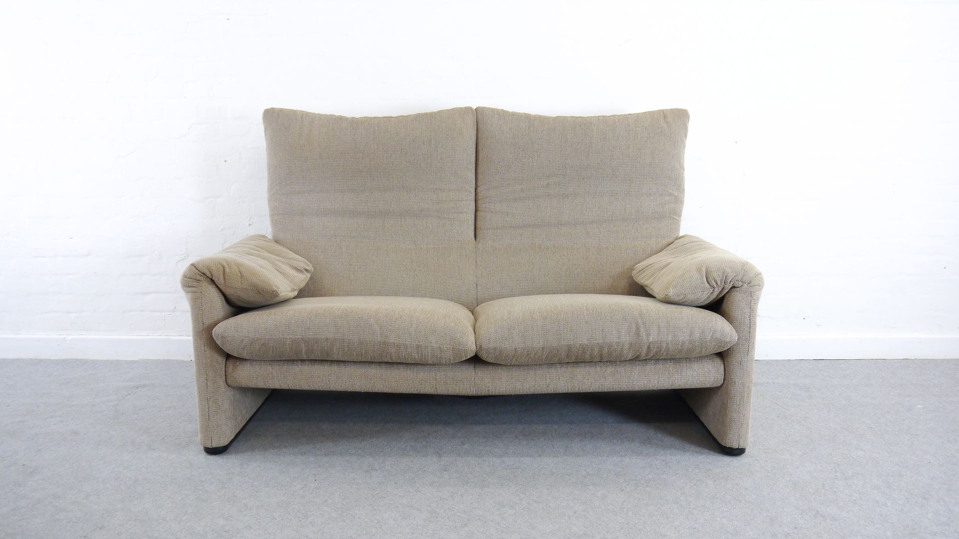 Maralunga Sessel Vintage Maralunga 2 Seater Sofa By Vico Magistretti For Cassina
