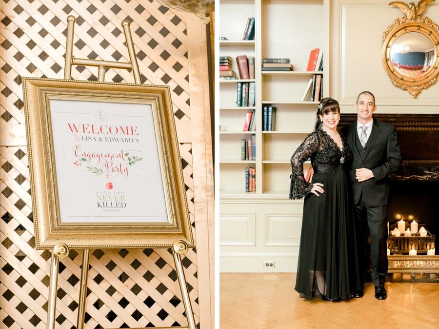 An Elegant Surprise Wedding at Philadlephia\u0027s Stotesbury Mansion - surprise engagement party
