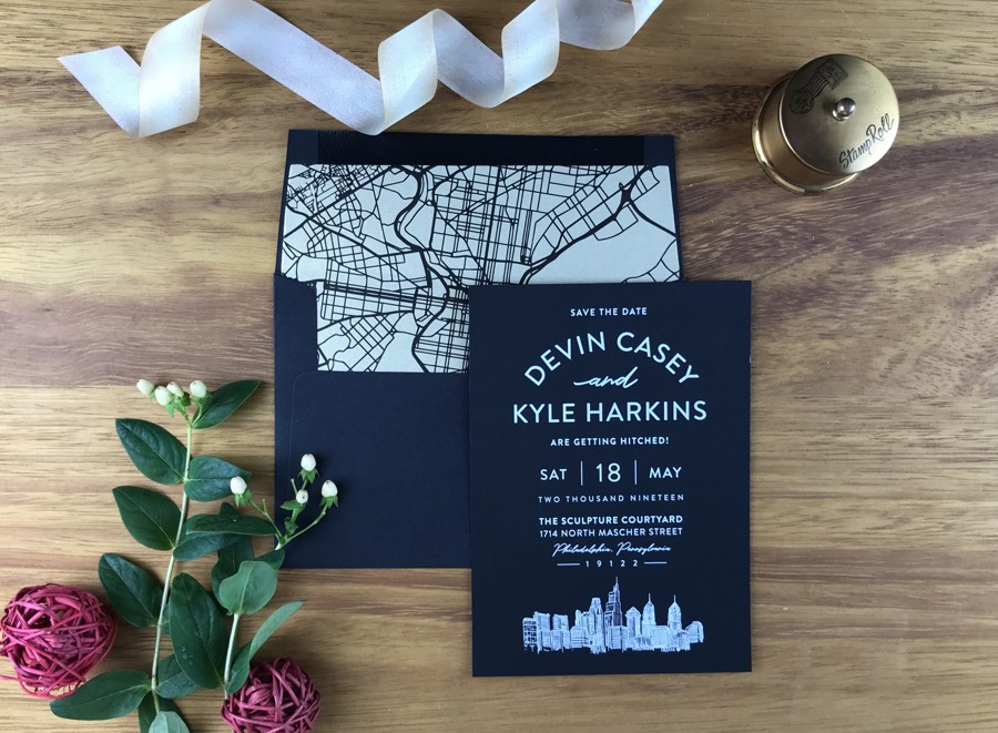 These Save-The-Dates For Your Wedding Are *So* Philadelphia