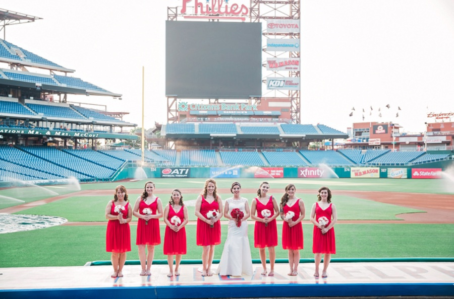 A Guide to Weddings at Citizens Bank Park and More Philly Sports Venues