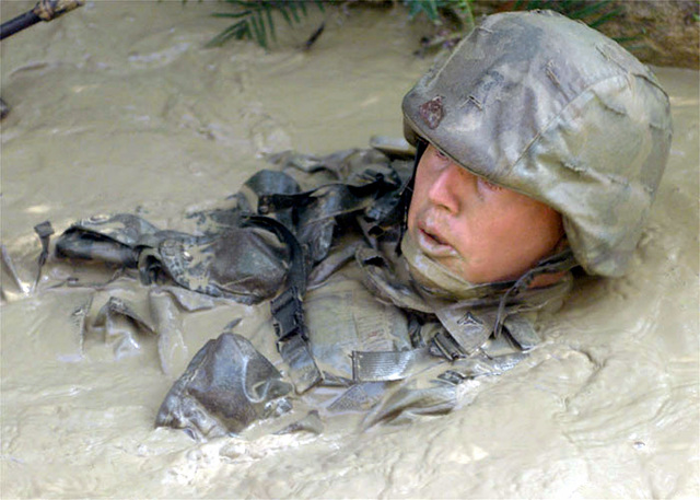 US Marine Corps Lance Corporal (CPL), Murray Potts with 3D Marine