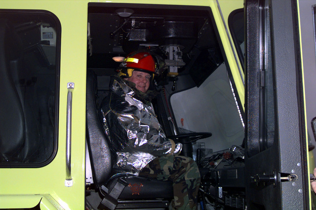 Student fire fighters at the Department Of Defense (DOD), Louis F