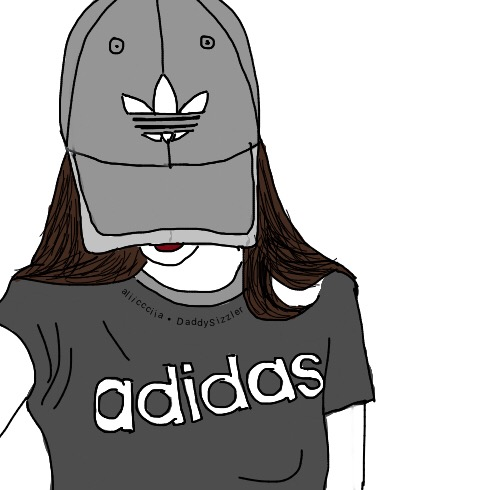 Nike Girl Wallpaper Iphone Freetoedit Outline Drawing Doodle Tumblr Girl Adidas