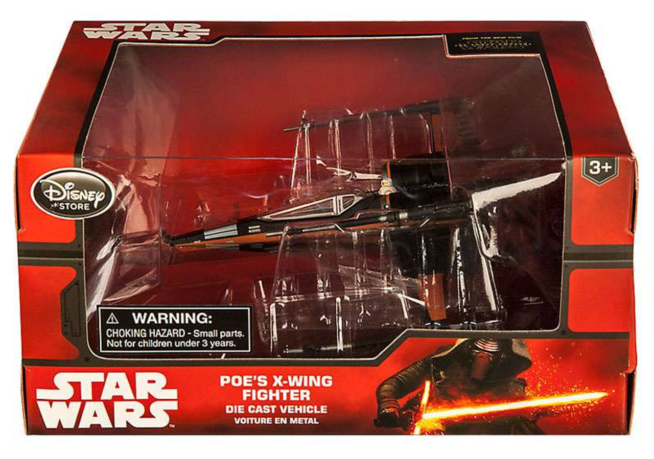 Disney Diecast X Wing Disney Star Wars The Force Awakens Poes X Wing Fighter