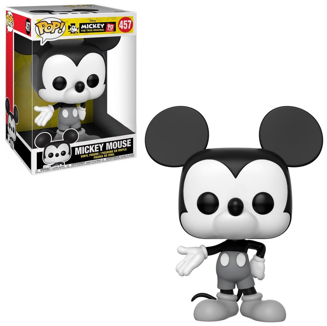 Disney Mickey Mickey The True Original Funko Pop Disney Mickey Mouse Exclusive 10 Inch Vinyl Figure 457 Super Sized