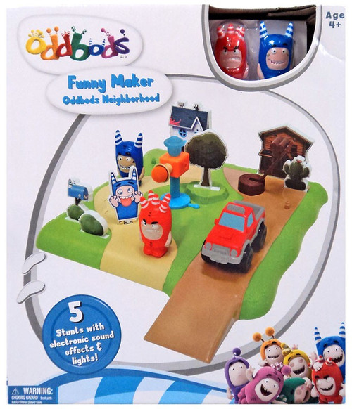 Oddbods Funny Maker Oddbods Neighborhood Playset Kids