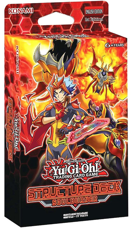 Amazon Us Customer Service Yugioh Soulburner Structure Deck Konami - Toywiz