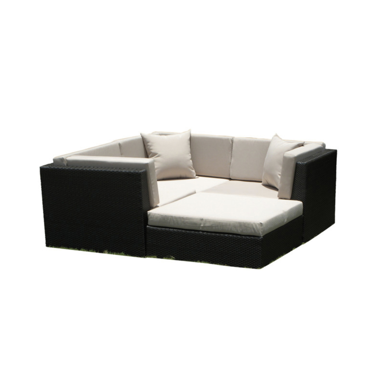 Square Sofa Vilano Square 4 Piece Sectional