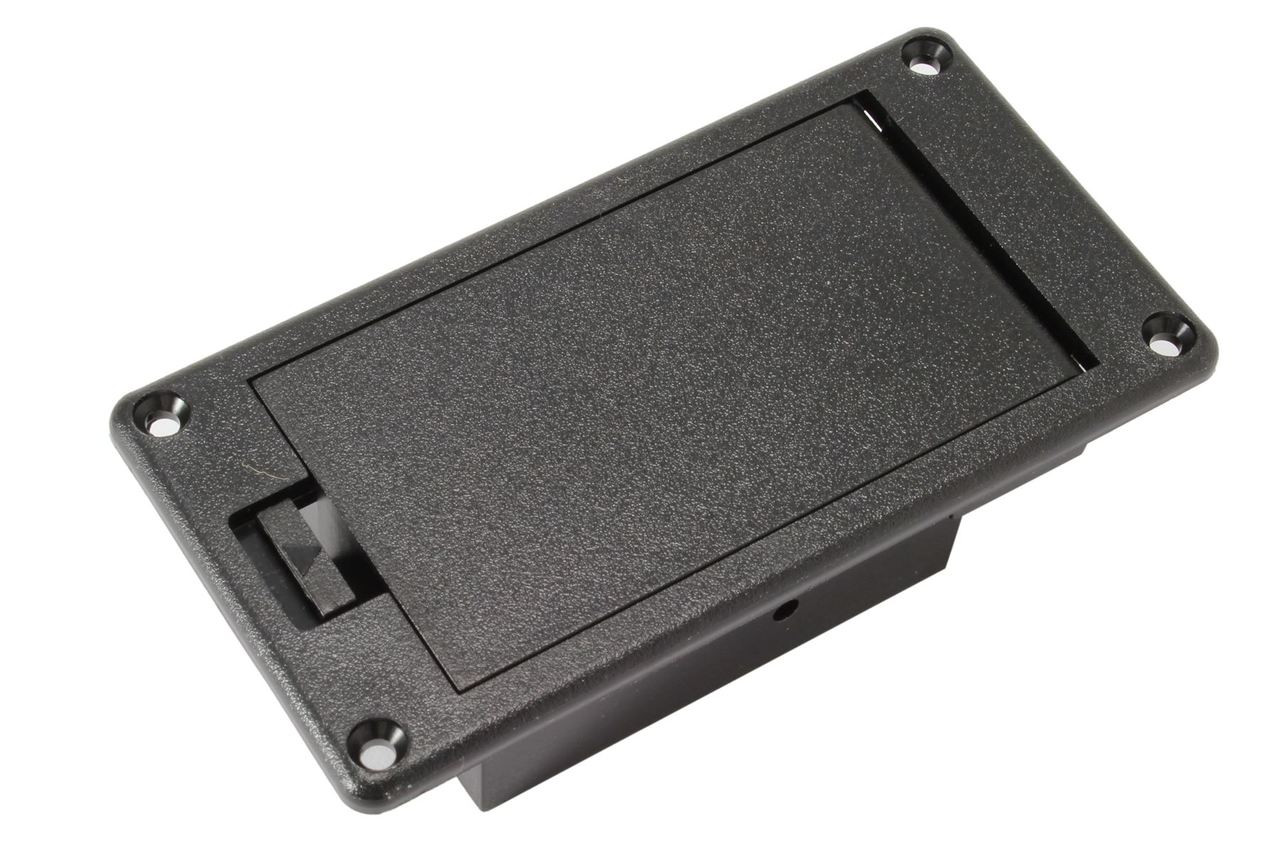 9 Volt Batterie Generic 9 Volt Battery Compartment Box Black