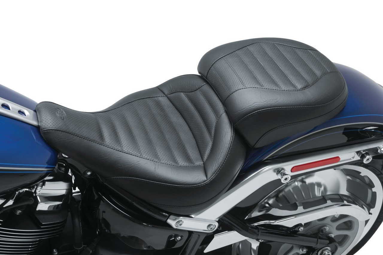 Harley Davidson Touring With Mustang Standard Solo Touring Seat For 18 Up Harley Davidson Softail Fat Boy