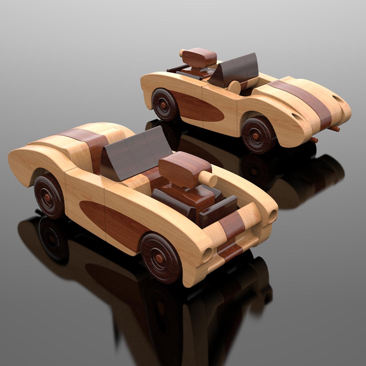 Scroll Saw Magic 1957 Corvette Hot Rod Wood Toy Plans